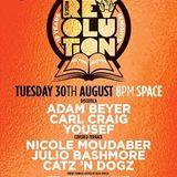 Carl Craig @ Music is Revolution Week 12, Space Ibiza - 30 August 2016