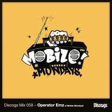 Discogs Mix 058 – Operator Emz of Mobile Mondays!