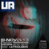 Underground ROOM : 9 - NOV - 2013 . Guest : LetKolben