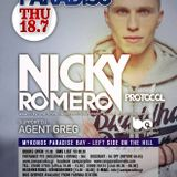 Nicky Romero - Live @ Cavo Paradiso Mykonos (Greece) 2013.07.18.