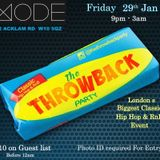 THE THROWBACK PARTY VOL.JAN 16