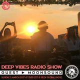 Deep Vibes - Guest MOONSOUND - 05.03.2017