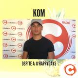 KOM ospite a Cluster FM - #happydays 24 luglio 2019