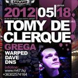 Dj Grega live Techno mix 2012 @ Sáránd-club M47