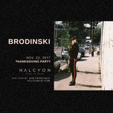 Brodinski - Live At Halcyon (San Francisco) - 22-Nov-2017