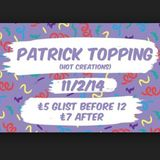 Patrick Topping @ Cosmic Ballroom Newcastle 11/02/2014