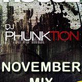 Dj Phunktion November Tech House Mix