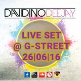 Live Set @ G-Street Milano 26|06|16