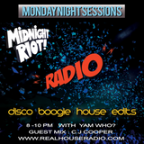 Midnight Riot Radio with guest CJ Cooper & host Yam Who? 15 - 04 -19