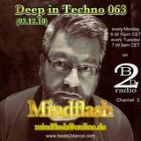 Deep in Techno 063 (03.12.18)