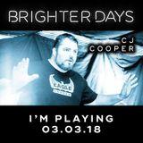 Brighter Days - CJ Cooper Promo Mix Feb 2018