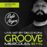 Groove Podcast #08 by Diego Kunz