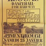 ADDIS - POSTMAN (feat. Joha) - UNITY : Three the hard way 25.01.2003 Piment Rouge / Geneva