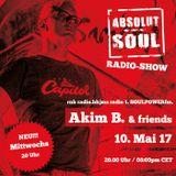 Absolut Soul Show /// 10.05.17 on SOULPOWERfm