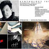 SYNTHOLOGY 101 April 2017 Edition hosted by DJ DINO & Fabian Sprock on JOLT RADIO