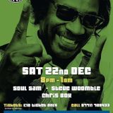 Soul Sam Steve Woomble & Chris Box Modern Soul Classics at The Blue Room 1