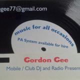 Gordon Gee's Funkalicious Show on Cruise FM. Sun 09-04-2017