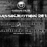 MARIO KNAUT - BASSINJECTION 201st - @CUEBASE.FM BLACK LABEL