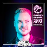GAYDIO #InTheMix - Saturday 9th June 2018 - with James Bowers