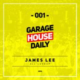 Garage House Daily #001 (2018) - James Lee