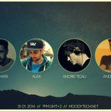 Andrei Em @ MoodyTech 31 January 2014