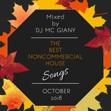 -10- DJ MC GIANY - The Best Noncommercial House Songs Of October 2018