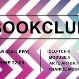 ARTE ARTUR @ BOOK CLUB / Hangar Dublin 2016
