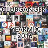 Clubganger - Yearmix 2016 (Charts, Pop & Lieblingslieder)