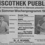 DJ Koogle Edgar Kugel Live 1984 -  Saxophon over Ain't No Stoppin' Us Now Instrumental