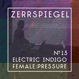 zerrspiegel 11/2017 Interview with Electric Indigo about technofeminist network female:pressure