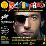 Mashuparty #41 - DJ Surda & Playskull DJ (MashCat Team) - PopBar Razzmatazz (2015/09/12)