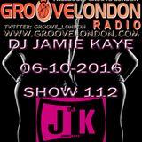 GrooveLondon Radio Show - 06-10-2016 Show 112
