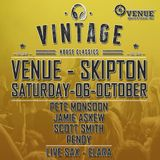 Pete Monsoon - Vintage @ The Venue, Skipton (Oct 2018)