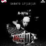 A-KRIV @ Noise D-Vision RUBIKclub 17/10/15