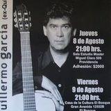 Guillermo García en la Sala Master. Jueves 8 de Agosto de 2002. Chile