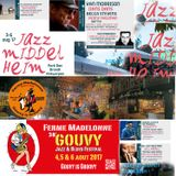 JAZZ STATION on BRUZZ : SUNDAY JULY 30, 2017 : FOCUS ON MIDDELHEIM EN GOUVY.