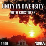 Kristofer - Unity in Diversity 506 @ Radio DEEA (22-09-2018)