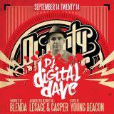 DJ Digital Dave Live From Ol' Dirty Sundays (ODS) Sep 14, 2014