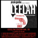 GDS.FM SHOW Nr. 70 LE FLAH LIVE MIT CHIEF (LIVE BEATS) UND SMK (SLM & KHADERBAI) TEIL 2/2