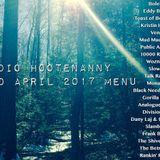 Radio Hootenanny Hr2 Mid April 2017