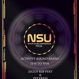 Ziggy Flow-Tek b2b Pert - Nature Sound Underground #026 on activitysound.com