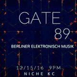 Drei Helix Gate 89 Opening DJ Set 12/15/16