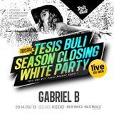 Gabriel B - live @ TESIS BULI Season Closing (Sing-Sing Szeged) (2014-05-13)