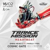 Cosmic Gate - @ Main Stage, Trancemission Heartbeat, A2 Arena Saint Petersburg, Russia (2019-02-16)