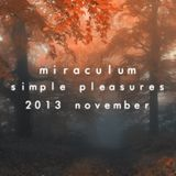 MiraculuM - Simple Pleasures 2013 November