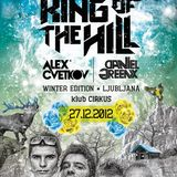 ALEX CVETKOV Live @King of the Hill - winter edition @klub CIRKUS, Ljubljana 27.12.2012