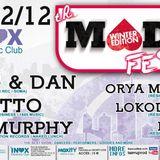 DJ Murphy - Live @ Mad Winter Festival, Inox Club, Toulouse, França (08.12.2012)
