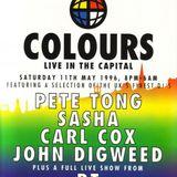 Carl Cox Essential Mix 19-05-1996 Colours Edinburgh REPRODUCTION Part 1
