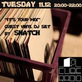 "VINYL DJ SET FOR CUBE RADIO ""IT'S YOUR MIX"" SHOW"