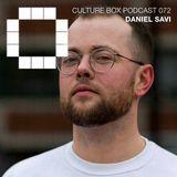 Culture Box Podcast 072 – Daniel Savi